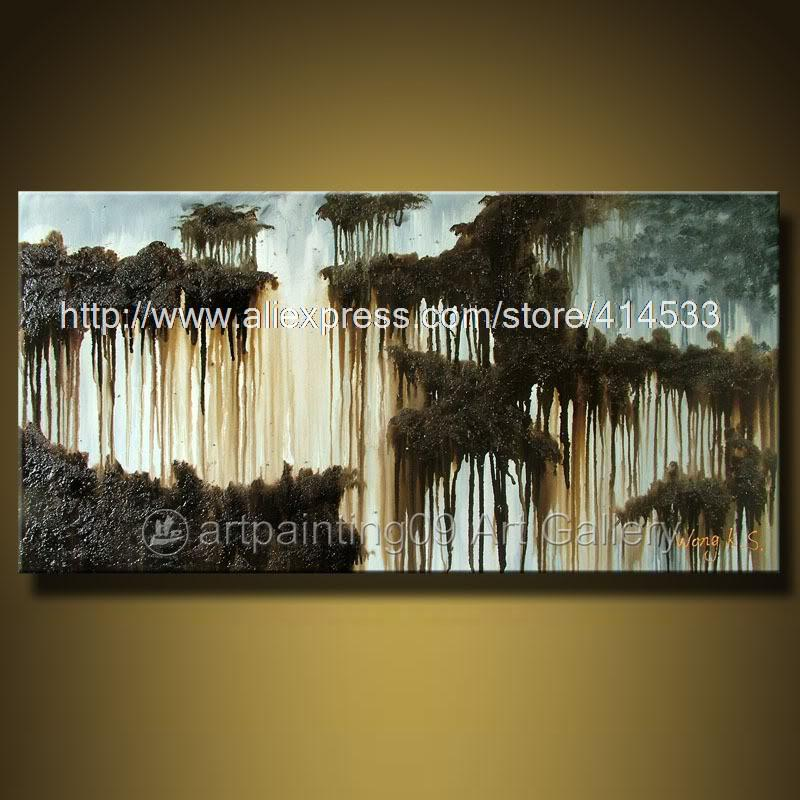 wall art abstract oil painting home decor canvas art cheap