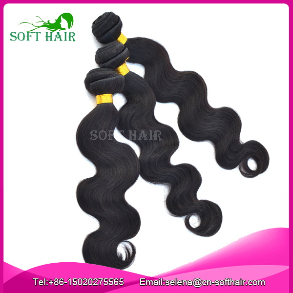 Rosa Hair products Free Shipping cheap 3 pcs lot unprocessed natural color Malaysian Virgin Hairbody wave hair weave extension<br><br>Aliexpress