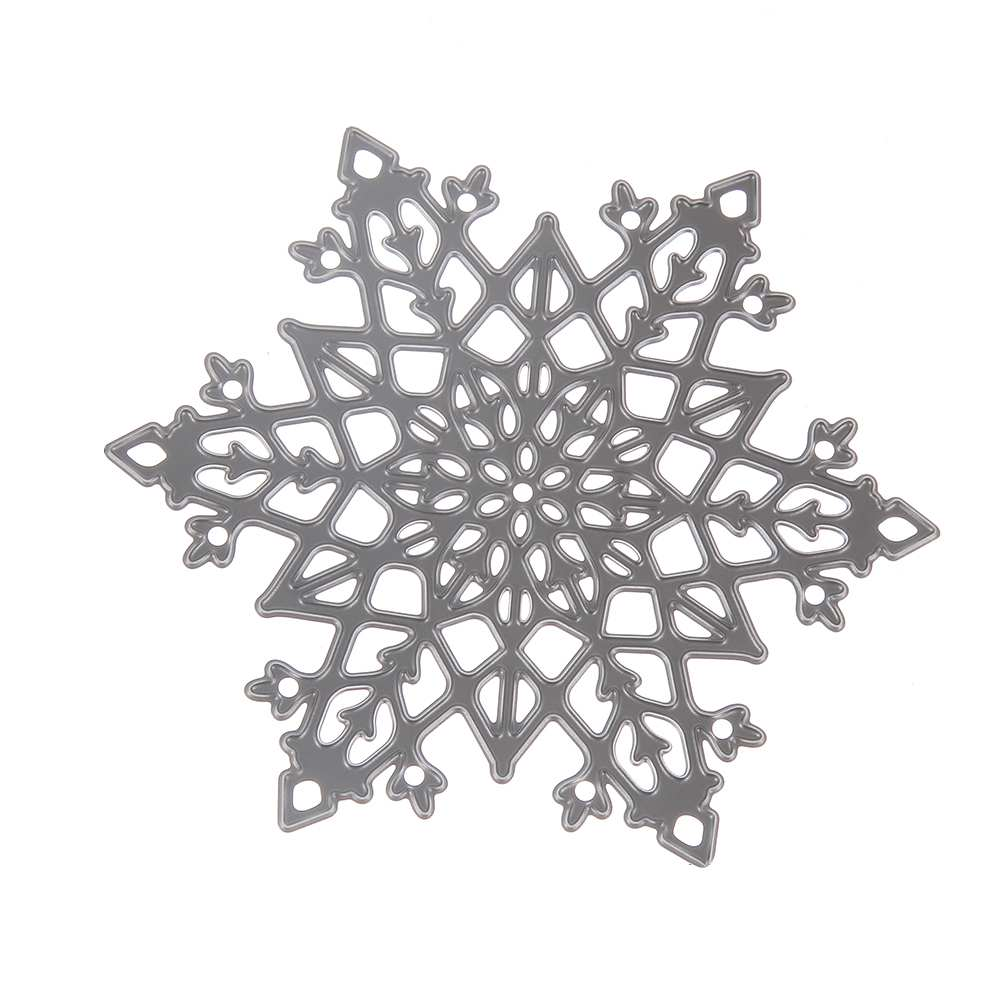 Christmas snowflake card model 8.5*9.8Metal Steel DIY Christmas decoration Cutting Dies Stencil make window sticker by yourself(China (Mainland))
