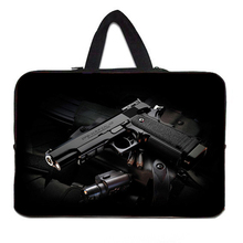 7 10 12 13 15 inch laptop bag tablet sleeve case with handle PC handbag 13.3 15.6 11 14 inch computer notebook cover pouch(China (Mainland))