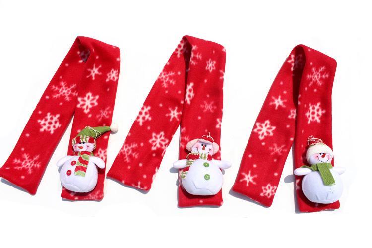 2015 nueva bufanda de la manera de Papá Noel Niños de Navidad chal bufandas multi estilos
