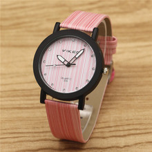 Simulation Wooden Relojes Quartz Watches Women Men Casual Wooden Color Leather Strap Watch Female Wristwatch Relogio Feminino