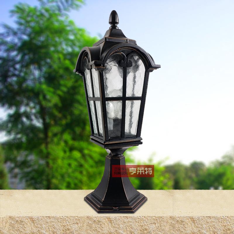 Achetez en gros colonne lampadaire en ligne des for Lampe exterieur ancienne