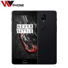 """טלפון נייד מקורי oneplus 3 t a3010 lte 4 גרם snapdragon 821 5.5 """"אנדרואיד 6.0 6 גרם RAM 64/128 גרם ROM 16MP זיהוי טביעת אצבע NFC(China (Mainland))"""