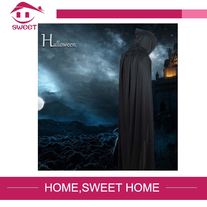 Horror halloween realistic scary grim reaper movie props cloak mask costume for adults,halloween party supplies men(China (Mainland))