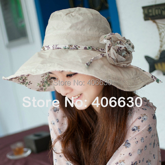 girls sun hat &amp; Cap, floppy hat, bucket hat, Tourism hat, travel hat, 5 colors, 10pcs/lot, Free Shipping via EMSОдежда и ак�е��уары<br><br><br>Aliexpress