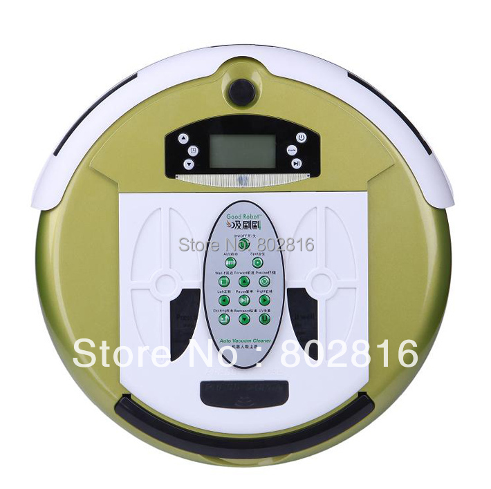 4 In 1 Multifunctional Wet&Dry Robot Vacuum Cleaner+ Free Shipping(China (Mainland))