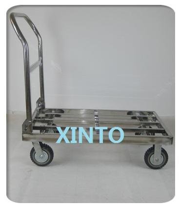 """550KG,90X60CM,6"""" super silence wheel,folded trolley cargo cart folded cargo trolley trailer trucks(China (Mainland))"""