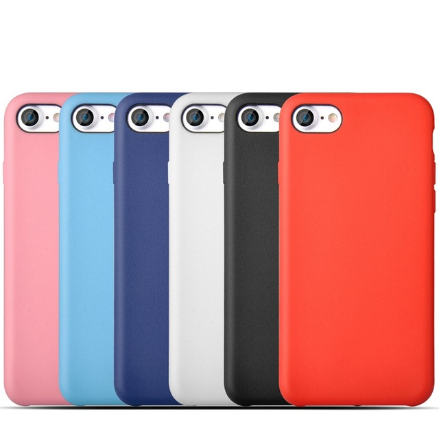 10Original Fashion Pure Color Soft Silicone Gel Case iPhone 5 5S 6 6S plus Mat TPU Cover 7 7plus + DHL - KUAYANG STORE store