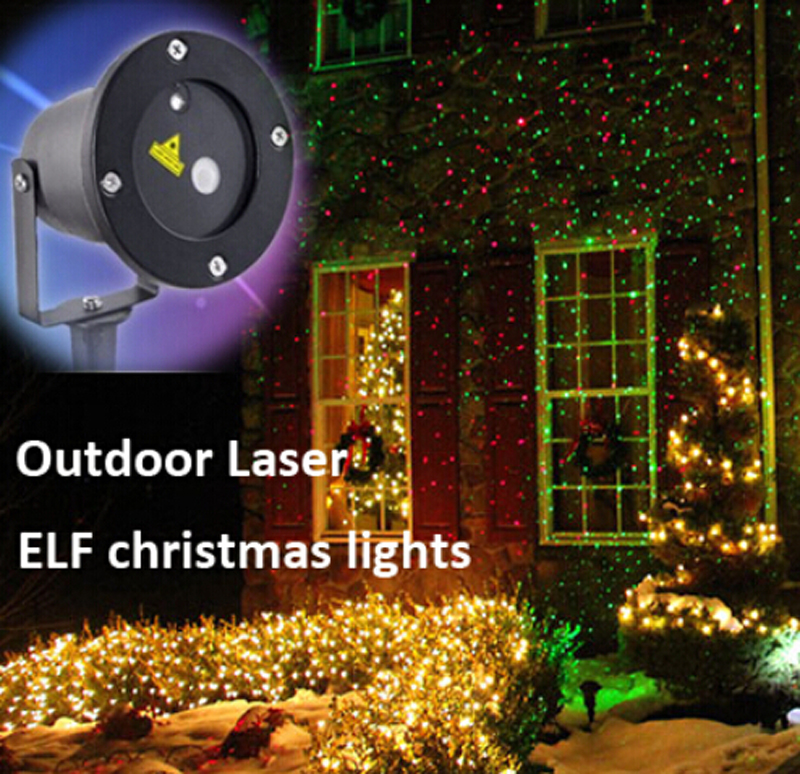 outdoor ip65 waterproof elf laser light elf christmas lights outdoor laser projector red green. Black Bedroom Furniture Sets. Home Design Ideas