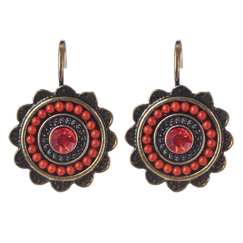 new ethnic jewelry charming vintage resin drop
