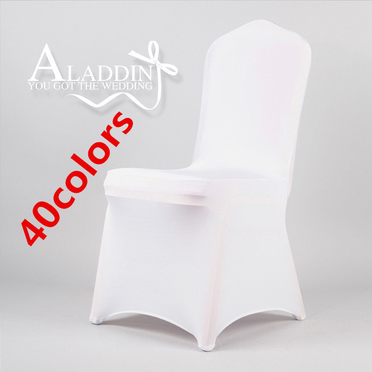 polyester wedding chair covers stretch banquet chair covers from china