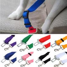 Best seller Universal  Car Seat Belt Seatbelt Harness Lead Clip Pet Cat Dog Safety keep your dog  cat safe during drives zv jul(China (Mainland))