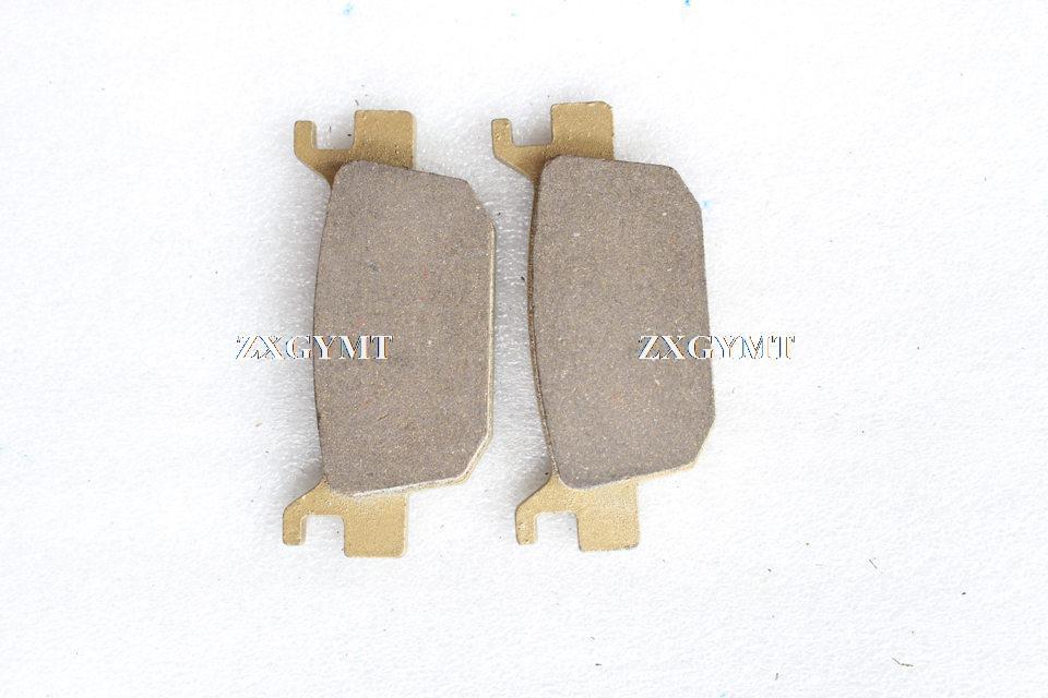 Carbon Brake Pads fit HONDA SH 300i 7/8/9 (Non ABS) 07-09 Rear 1Pair (2Pads)(China (Mainland))