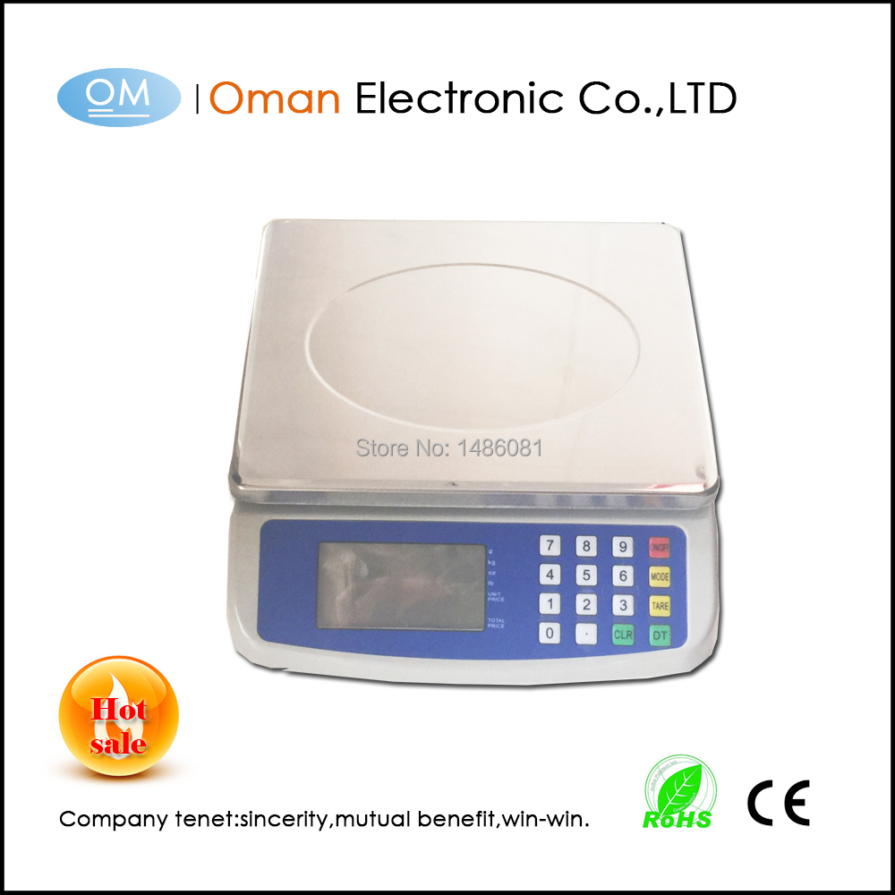 Oman-T580A 25kg electronic weighing scale price computing scale