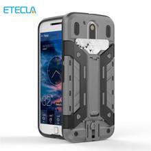 Броня Телефон Coque Случай Для Motorola Moto G4 G4 Plus Крышка Смесь Силикона Гибридный Защитный Shell Card Slot Держатель Подставка(China (Mainland))
