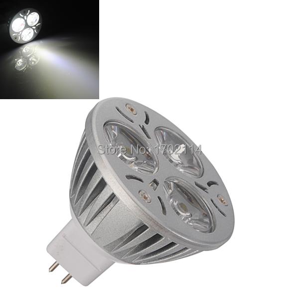 Top Quality MR16 3 SMD LED Energy Saving Spotlight Spot Down Light Lamp Bulb Warm White Pure White DC12V <br><br>Aliexpress