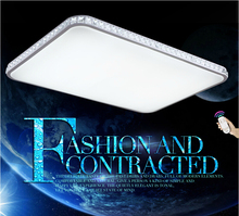 2015 Modern Led Ceiling Lights For Living Room luminarias para sala Ceiling Light lighting With Remote Control NiteCore Extreme