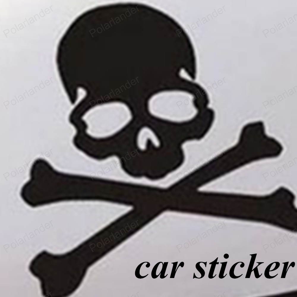 Car mirror sticker design - New Deisgn Skull Design Pvc 3d Decoration Sticker For Car Side Mirror Rearview Truck Sticker Free