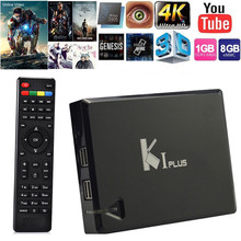 Buy KI Plus K1 PlusT2 S2 Android 5.1 Amlogic S905 Quad Core 64-bit TV BOX Support DVB-T2 DVB-S2 Support Ccamd Newcamd 1G/8G for $83.81 in AliExpress store