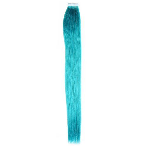 20 pcs high quality tape in remy seamless real hair extensions 20 pcs high quality tape in remy seamless real hair extensions skin weft turquoise 20 24 pmusecretfo Images