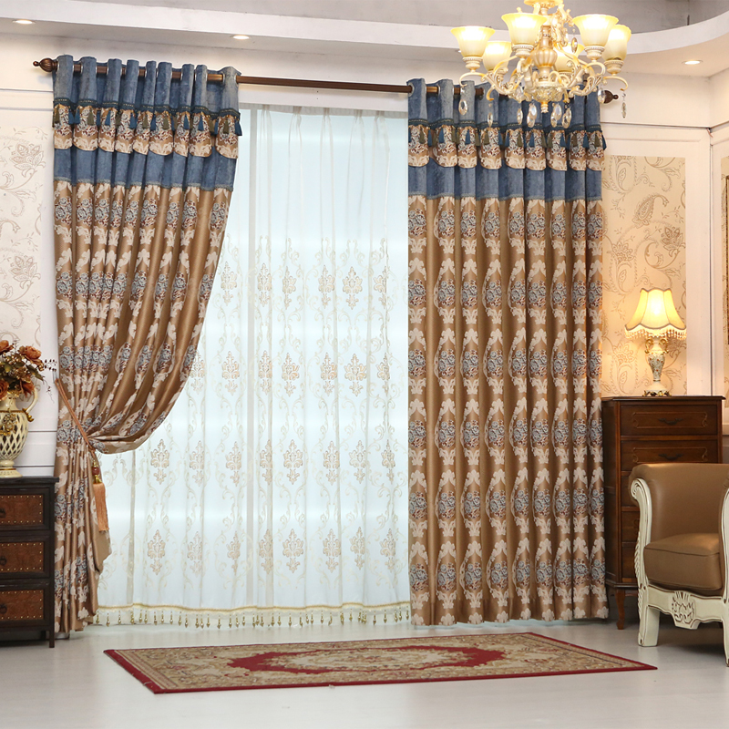 Thick Lace Curtains