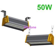 2PCS/LOT free shipping AC85-265V IP65 50w led bar 50w led warehouse light(China (Mainland))