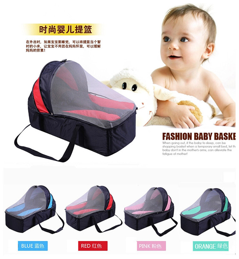 New Famous Brand Dropshipping Newborns Portable Crib For Baby 0-12Months Folding Baby Sleeping Basket Baby Product 82*32CM<br><br>Aliexpress
