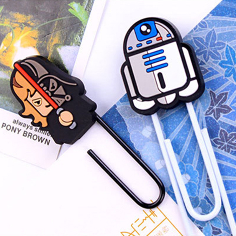 Cartoon Paperclip Jewelry Accessorie Multifunction Vader Wars Darth Vader Paperclip Paperclip Student Selling Bookmark Folder<br><br>Aliexpress