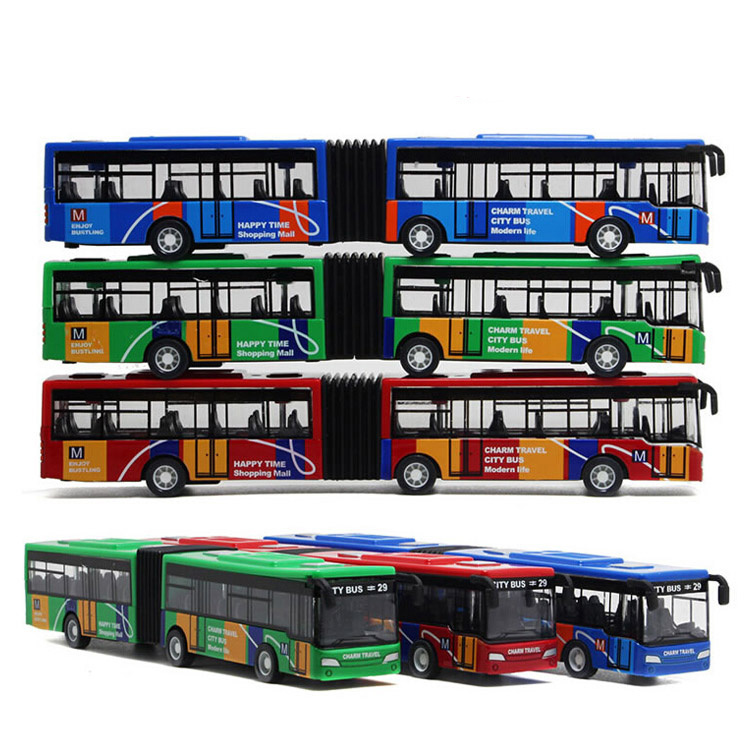 Free shipping 1:64 alloy pull back cars, high simulation camouflage the appearance of double toy buses, back function Toys(China (Mainland))