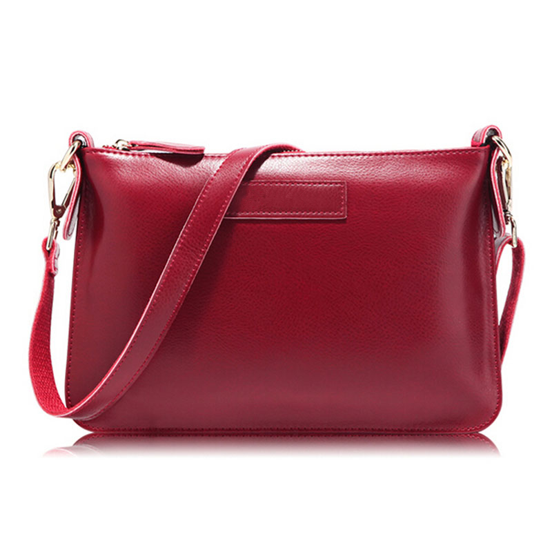 2016 Fashion Women Messenger Bags Genuine Leather Clutch Famous Shoulder Bag Cowhide Ladies Crossbody Bags bolsos mujer sac V153(China (Mainland))
