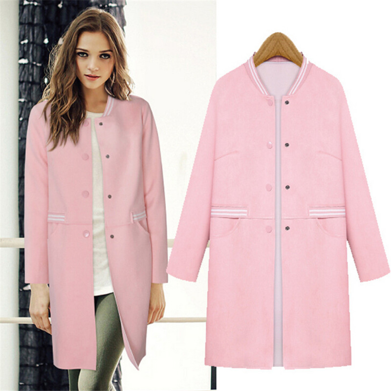 Light Pink Coat Womens - JacketIn