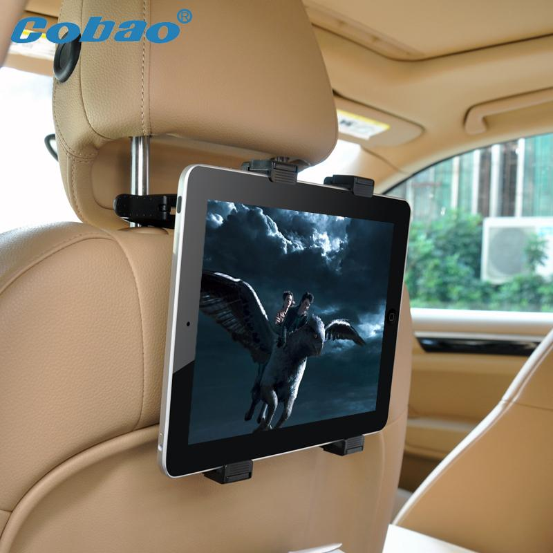 Cobao Brand Car Back Seat Headrest Mount Holder Stand Bracket For iPad 2 3 4 5 AIR Tablet PDA(China (Mainland))