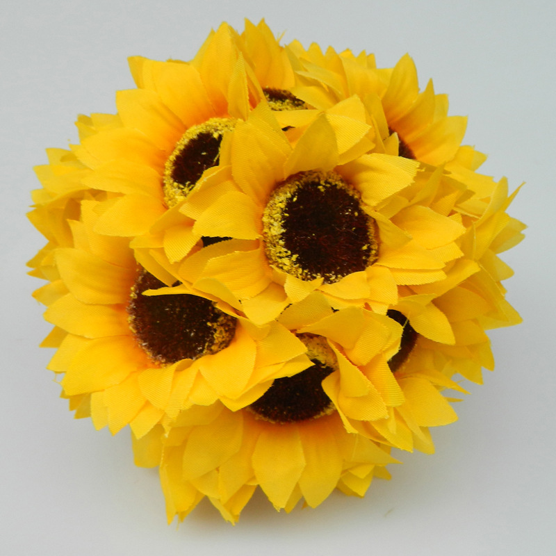 Factory direct sale quot cm artificial sunflower