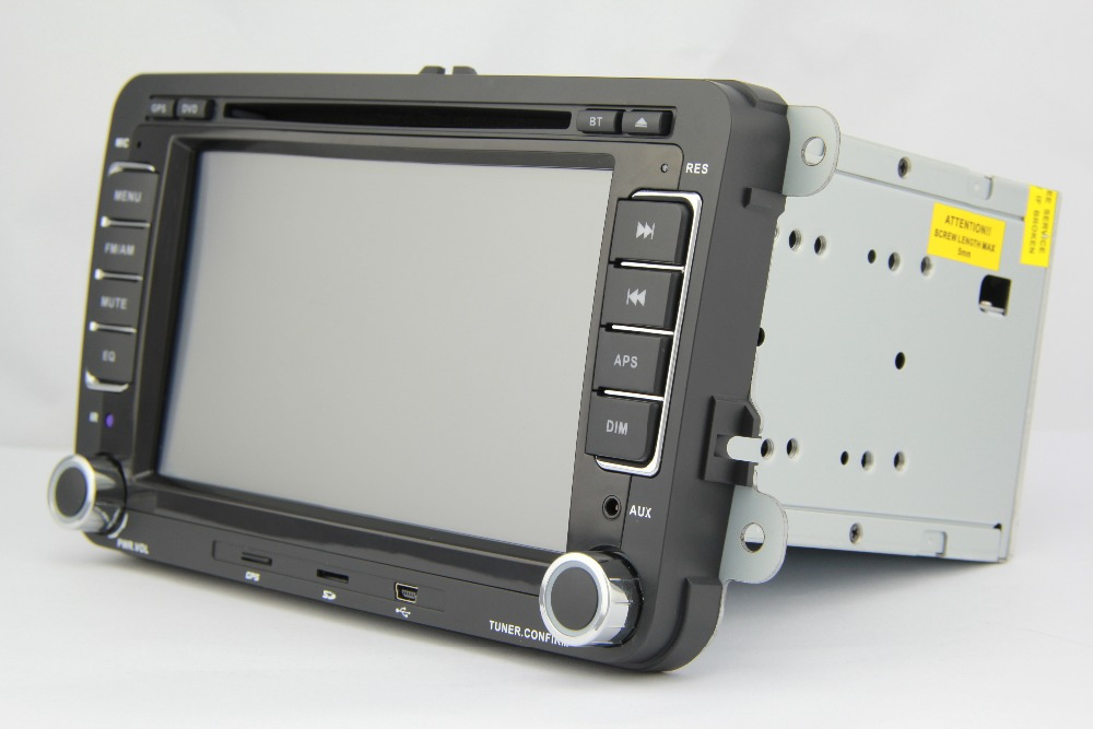 VW DVD GPS 7' for VW Jatta magotan passat golf build in GPS bluetooth,WinCE,free map,Voice Guidance;steering wheel control,radio()