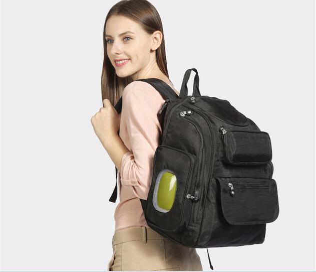 Noir sac dos sac couches promotion achetez des noir sac dos sac couches promotionnels - Couche maternite pour maman ...
