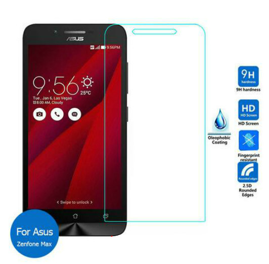 9H Explosion-proof Tempered Glass Film Screen Protector for Asus Zenfone Max ZC550KL Front Protective Guard(China (Mainland))