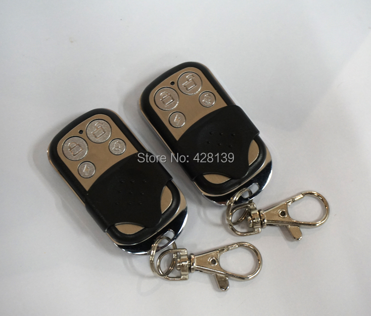 P10 Wireless Remote Controller Control Keyfobs Keychains ARM/Disarm/Home Arm/Emergency Panic 433MHz Just Alarm System - SZ easysell store
