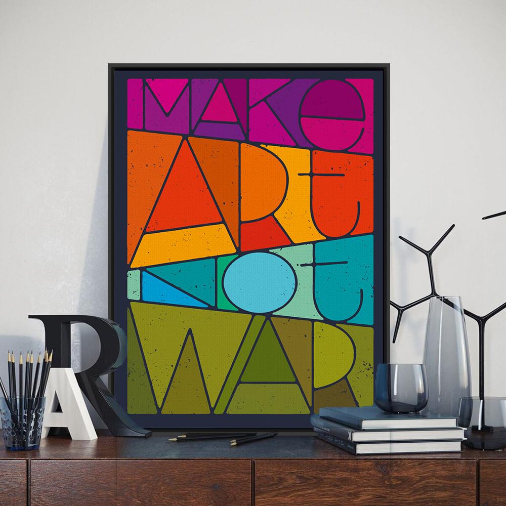 La paix citation promotion achetez des la paix citation for Art minimaliste citation