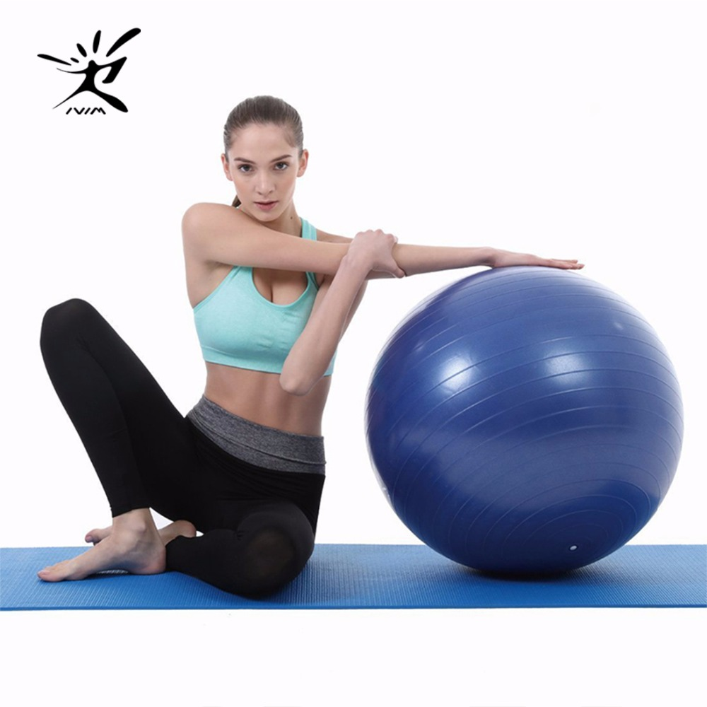 iVIM Fitness Yoga Ball Anti Burst Stability Ball Total Body Balance Exercise Ball Pump for Free Children Toy/Yoga accessory(China (Mainland))