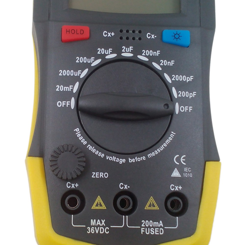 New Arrival Digtital Meter XC6013L Capacitance Capacitor Tester Circuit Overload Protection High Quality