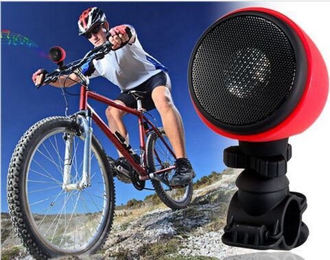 MA-861 Multi-functional Sports Bluetooth 3.0 Bicycle Speaker Bike Speaker MP3 Player with Microphone & Bike Holder (Red)(China (Mainland))