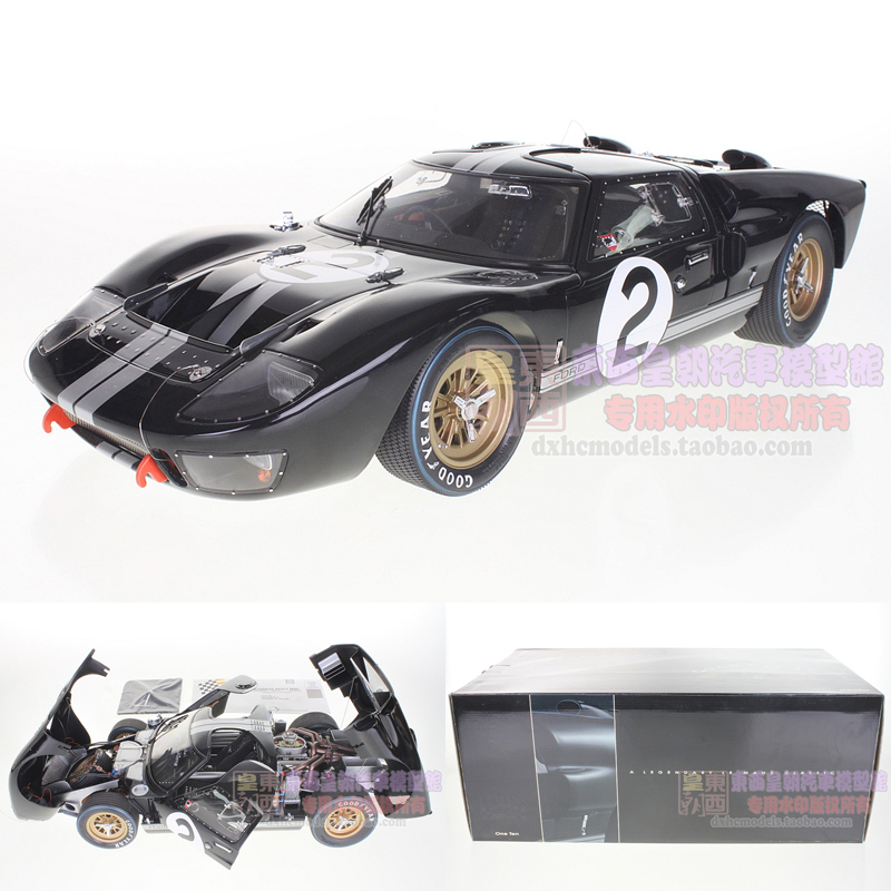 Original GT40 EXOTO 1:10 ford Mk II 1966 le mans championship 2 alloy automobile model(China (Mainland))