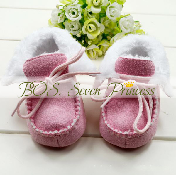 [Bosudhsou] Warm Cute Dropshipping Winter/Anti-slip Baby Boots/Toddler&Infant's Shoes/Footwear/Baby Pre-walkers(China (Mainland))