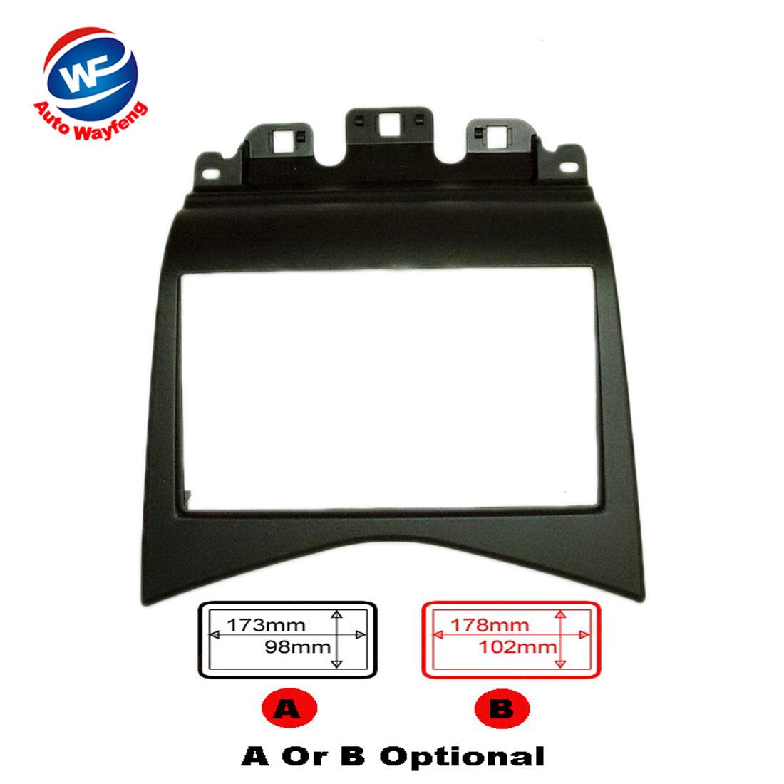 2016 Top Quality Professional Car DVD Radio Fascia CD Trim Installation Kit Fit For HONDA ACCORD 2007 Stereo Fascia Dash(China (Mainland))