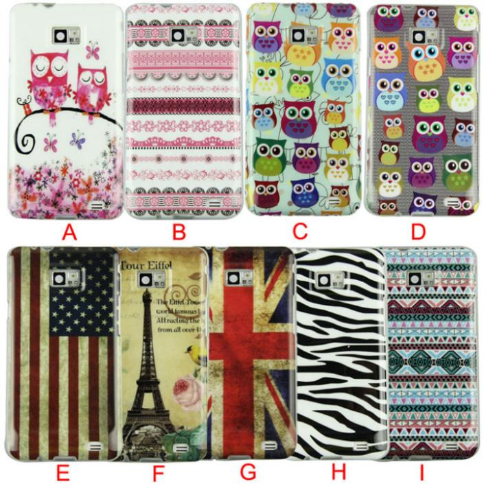 Delicate New Design Of Silicone Soft Case Cover for Samsung Galaxy S2 SII S II i9100 nice(China (Mainland))