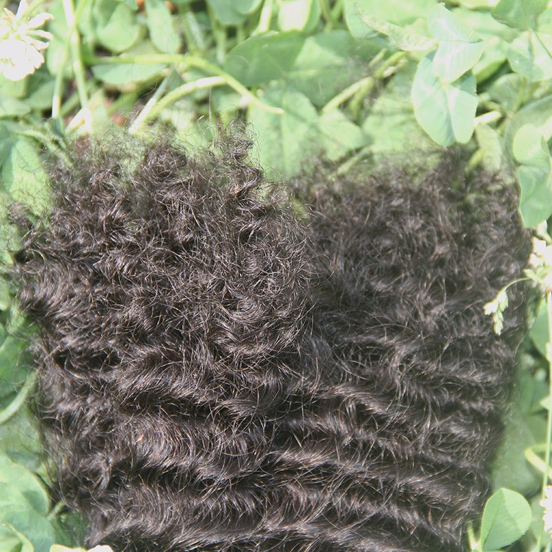 "7A Unprocessed Human Braiding Hair Bulk No Weft,Brazilian Kinky Curly Human Braiding Hair Bulk,8""-30"",Human Hair For Braiding"