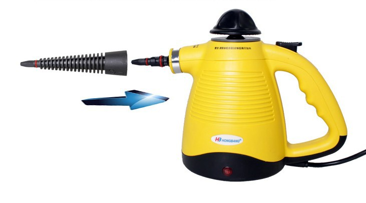 Power Steamers For Cleaning ~ Handheld steam cleaner high pressure cleaning portable