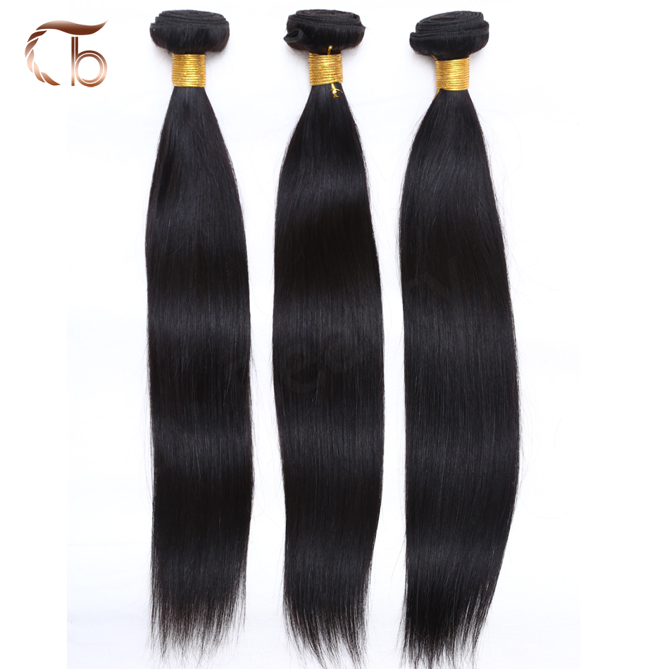 Unprocessed Brazilian Straight Hair 3pc/lot Cheap Hair Weaves Factory directly sale Natural black #1b Trendy Beauty Hair Product(China (Mainland))