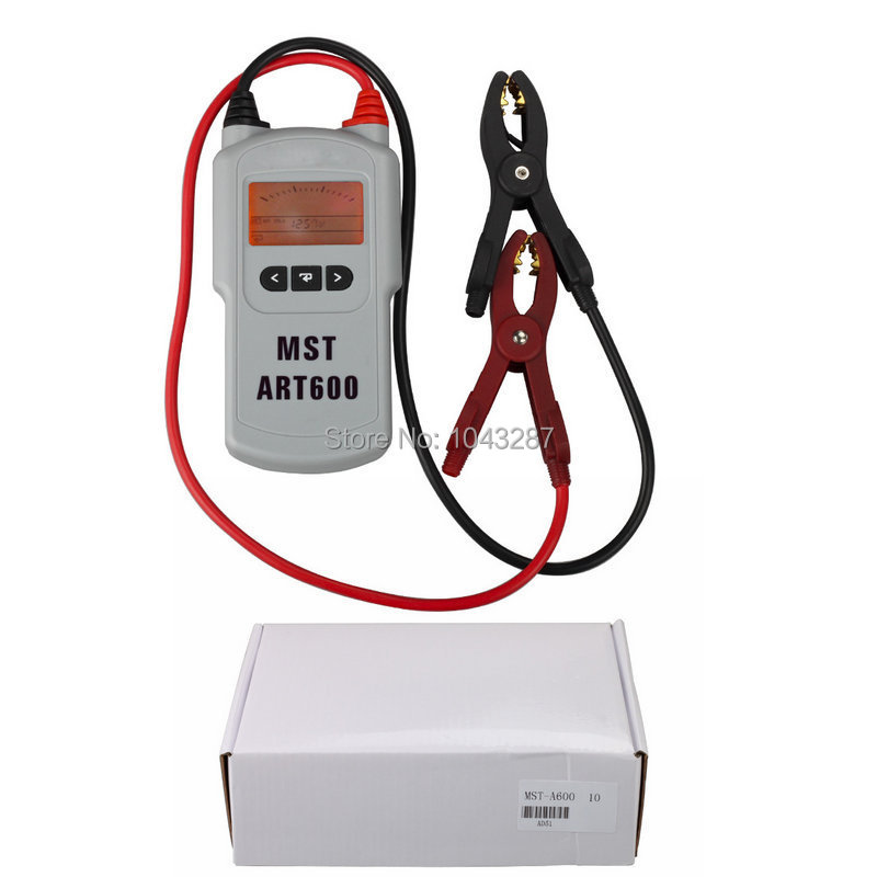Good Quality Auto Battery Tester and Analyzer MST A600 MST-A600 with LCD display(China (Mainland))